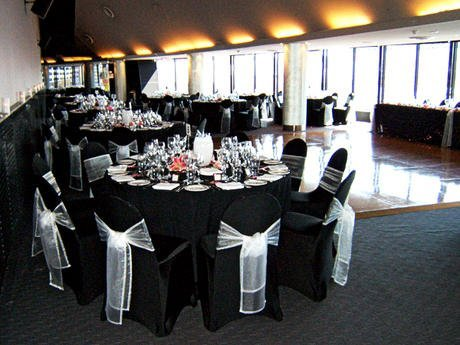 Black Wedding Chair Covers Wedding And Bridal Inspiration