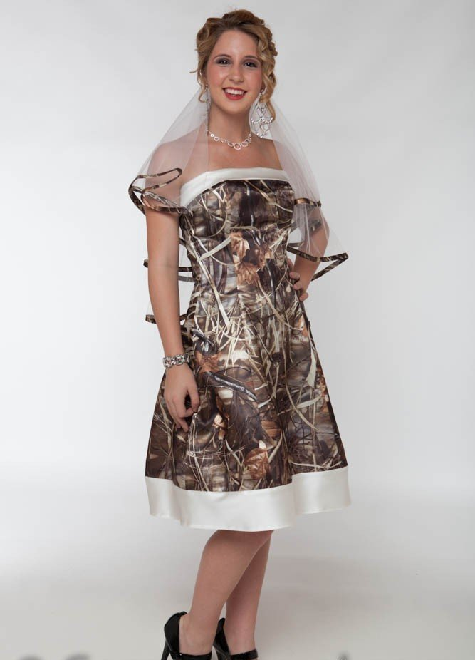 Camo wedding dresses for sale wedding and bridal inspiration for Wedding dress for sale