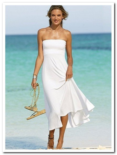 Casual beach wedding dresses wedding and bridal inspiration for Casual flower girl dresses for beach wedding