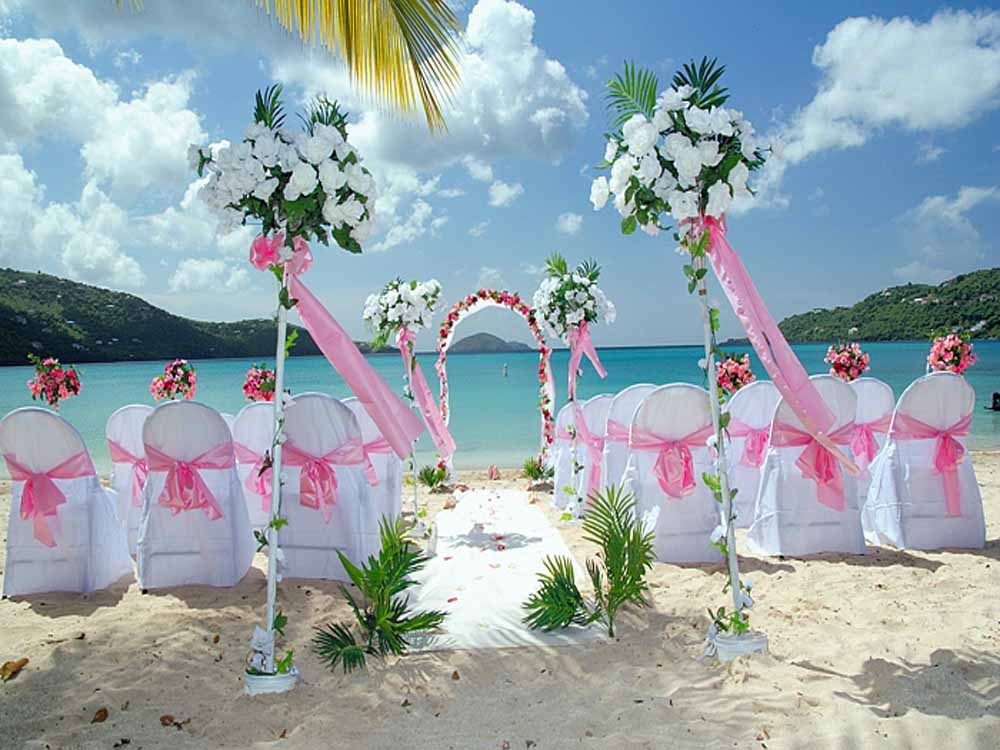 Cheap beach wedding decorations wedding and bridal for Inexpensive wedding decorations