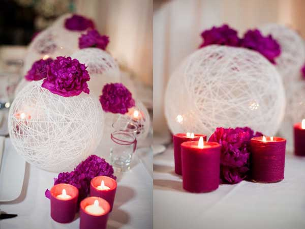 Wedding decor should be romantic and unique. You can add personal touches to every detail and make your special day distinctive. Besides that, there are many crafty ideas help to realize your whimsy wedding décor without spending a lot of money.