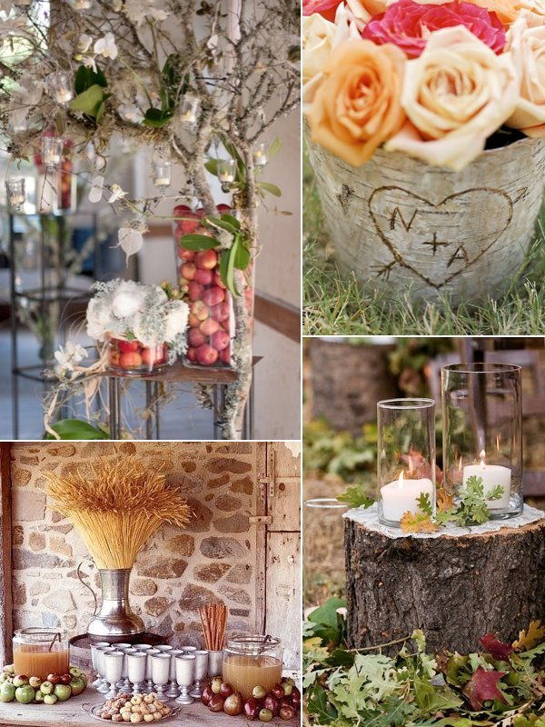 Cheap rustic wedding decor wedding and bridal inspiration for Cheap and easy wedding decorations