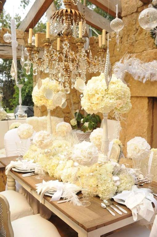 Cheap wedding decor ideas wedding and bridal inspiration for Inexpensive wedding decorations