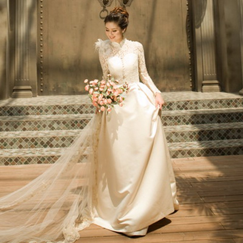 classic wedding gowns with sleeves wedding and bridal