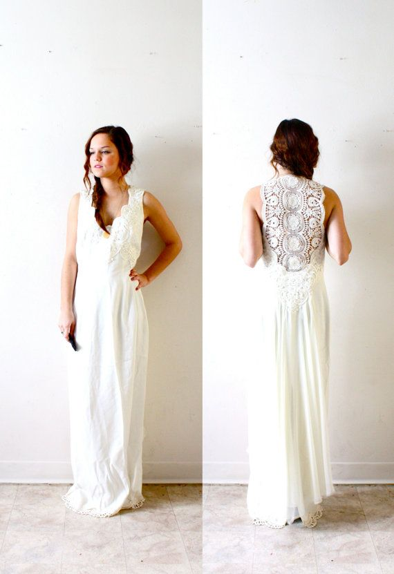 Etsy bohemian wedding dress wedding and bridal inspiration for Wedding dress on etsy
