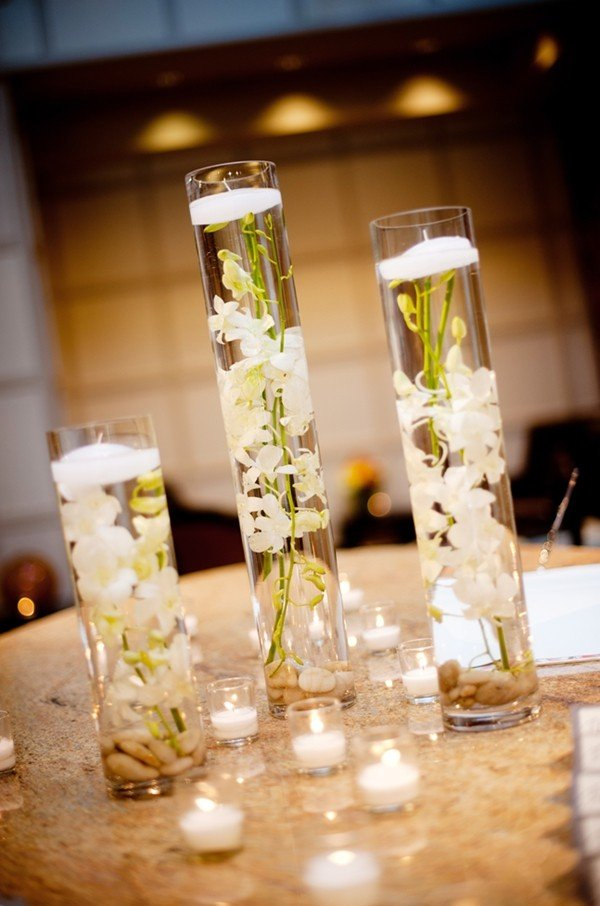 glass centerpieces for wedding tables wedding and bridal