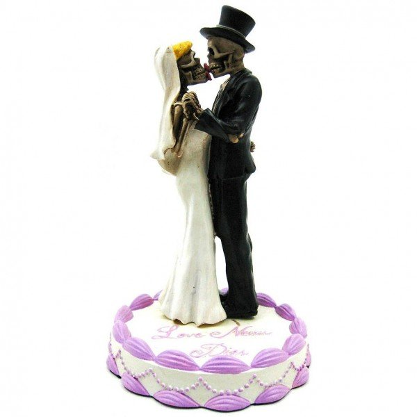 Gothic Wedding Cake Toppers