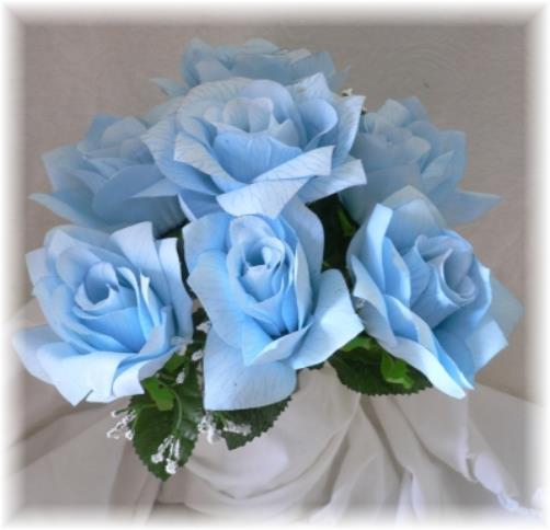 Light Blue Flowers For Weddings: Wedding And Bridal Inspiration