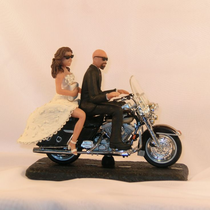 Motorcycle Figurines For Cakes