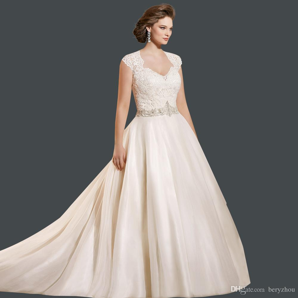 Plus Size Wedding Dresses With Color 44