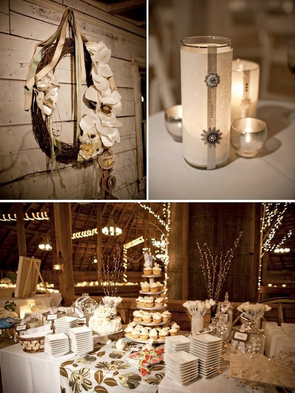 Rustic wedding decor for sale and bridal inspiration