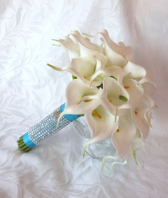 Simple Lily Bridal Bouquet : Simple calla lily wedding bouquets and bridal