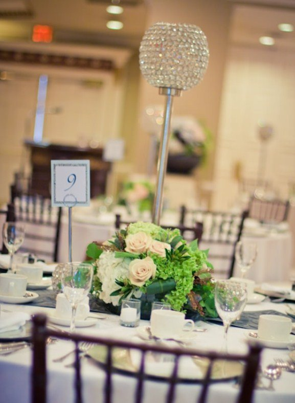 Tall candle wedding centerpieces wedding and bridal for Tall candle centerpieces