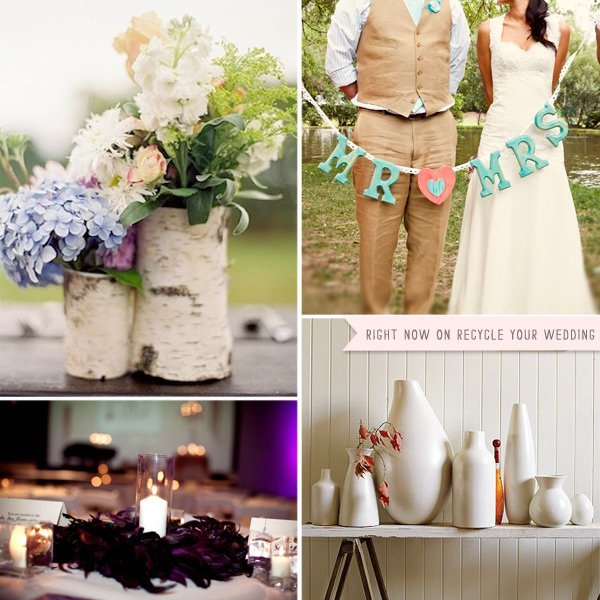 Used rustic wedding decorations for sale and