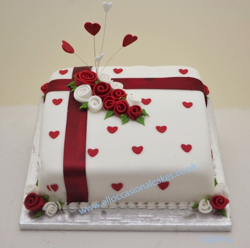 Cake Ideas For Wedding Anniversary: Wedding And Bridal Inspiration