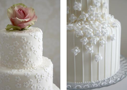 Easy Cake Icing Patterns: Wedding And Bridal Inspiration