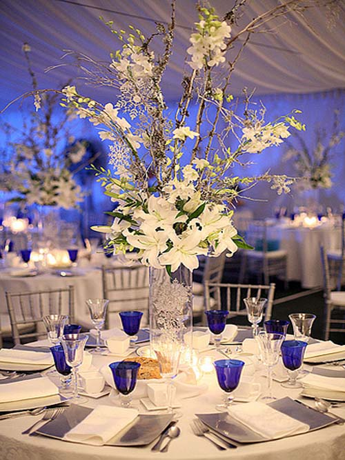 Wedding table decorations ideas centerpiece and