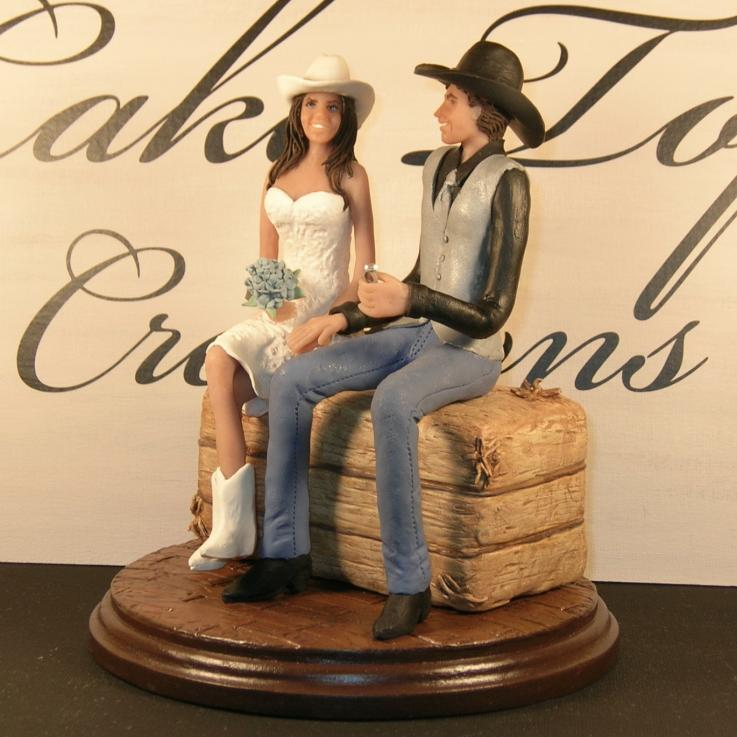 Western Wedding Cake Toppers - Wedding and Bridal Inspiration
