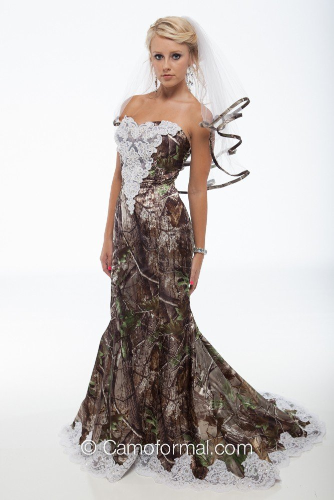 Where to buy camo wedding dresses wedding and bridal for Where to buy yasmine yeya wedding dresses
