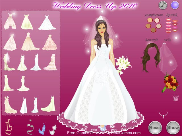 Bride Online Game Dress Up 19
