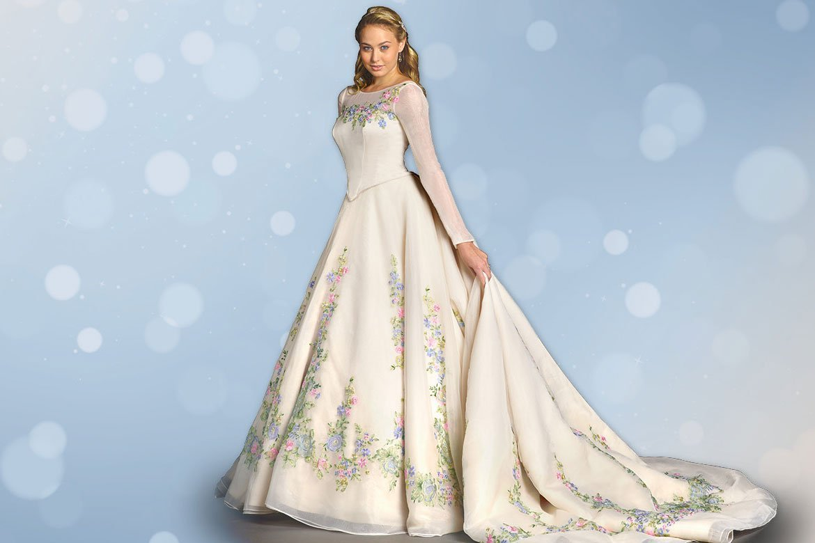 Disney cinderella wedding dress wedding and bridal for Cinderella wedding dress up