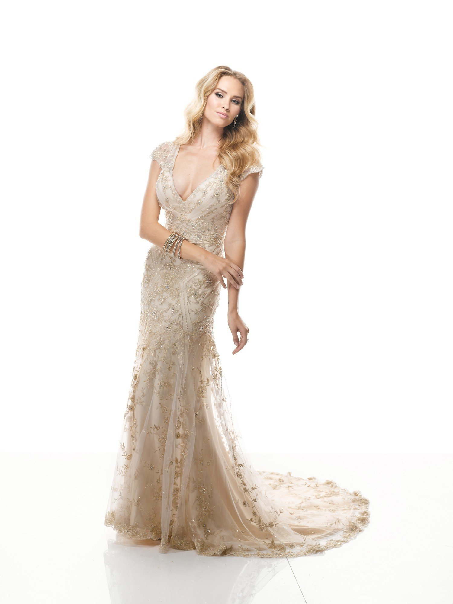 Maggie Sottero Gold Wedding Dress - Wedding and Bridal ...