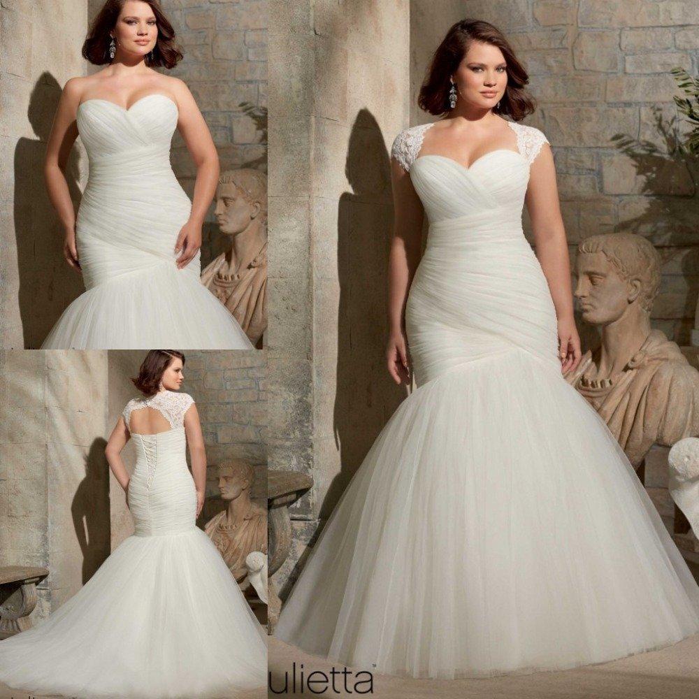 Plus size ivory wedding dresses wedding and bridal for Ivory plus size wedding dresses