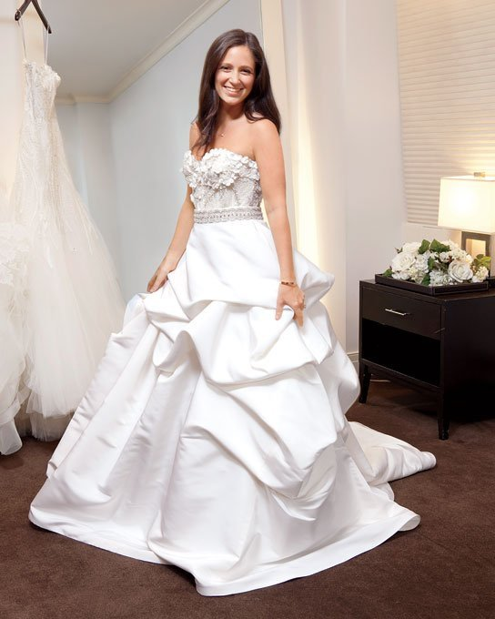 Wedding Dresses Real : Real brides in wedding dresses and bridal inspiration