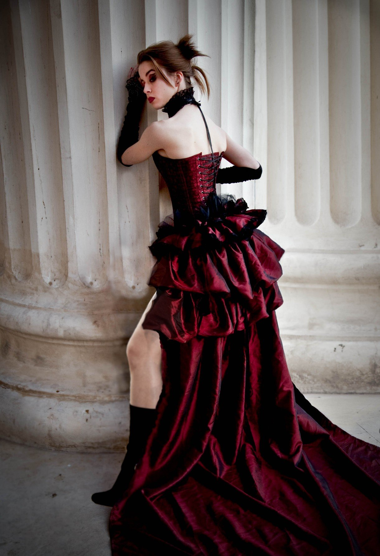 Vintage Gothic Wedding Dresses Wedding and Bridal