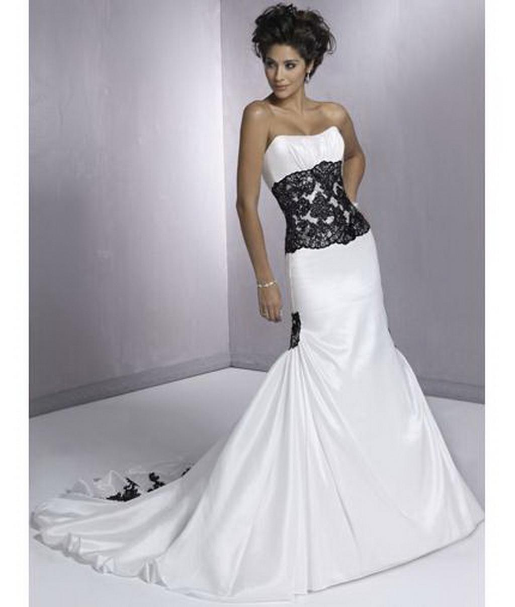 White gothic wedding dresses wedding and bridal inspiration for Pictures of white wedding dresses