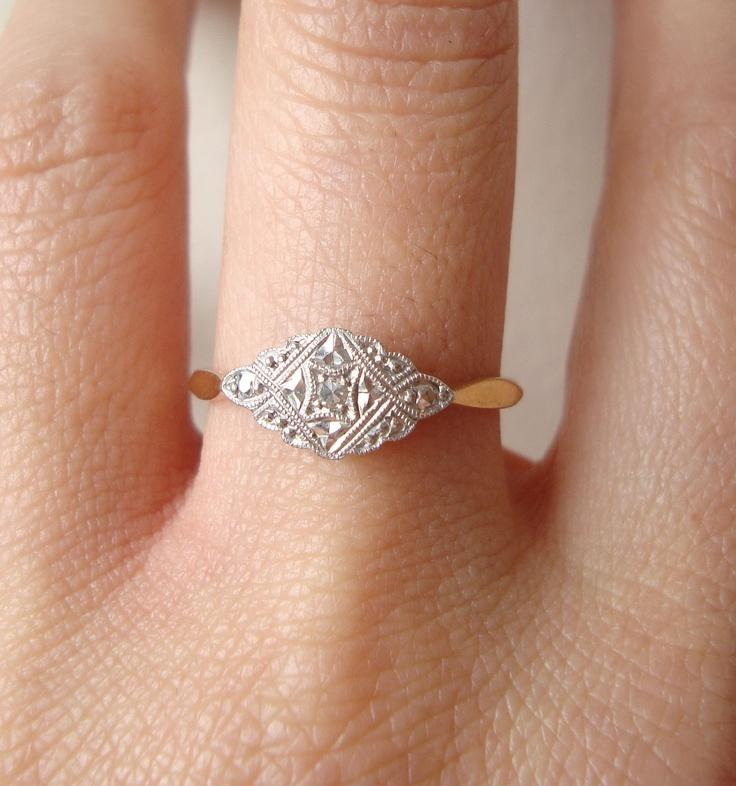 30 Luxury Simple Engagement Rings Etsy