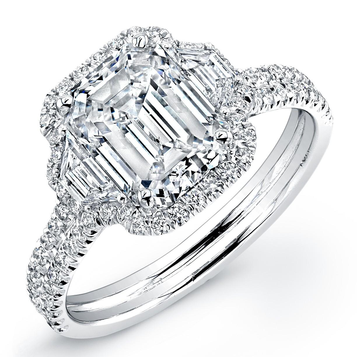High end engagement ring designers wedding and bridal for Wedding rings designers