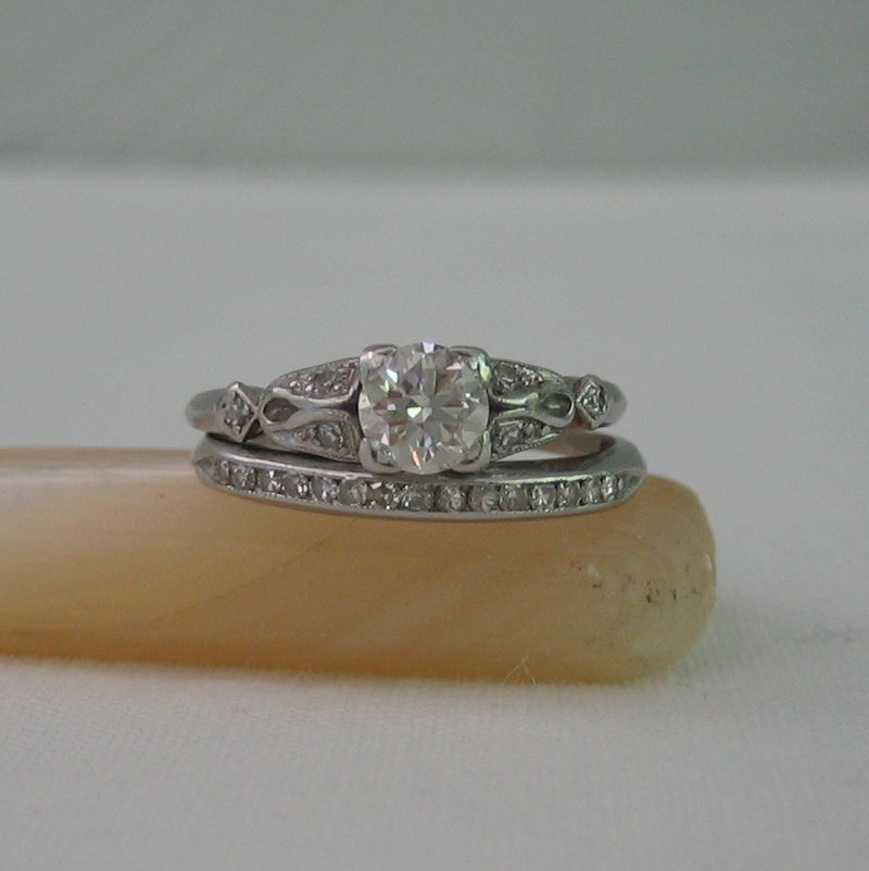 vintage engagement rings etsy wedding and bridal inspiration