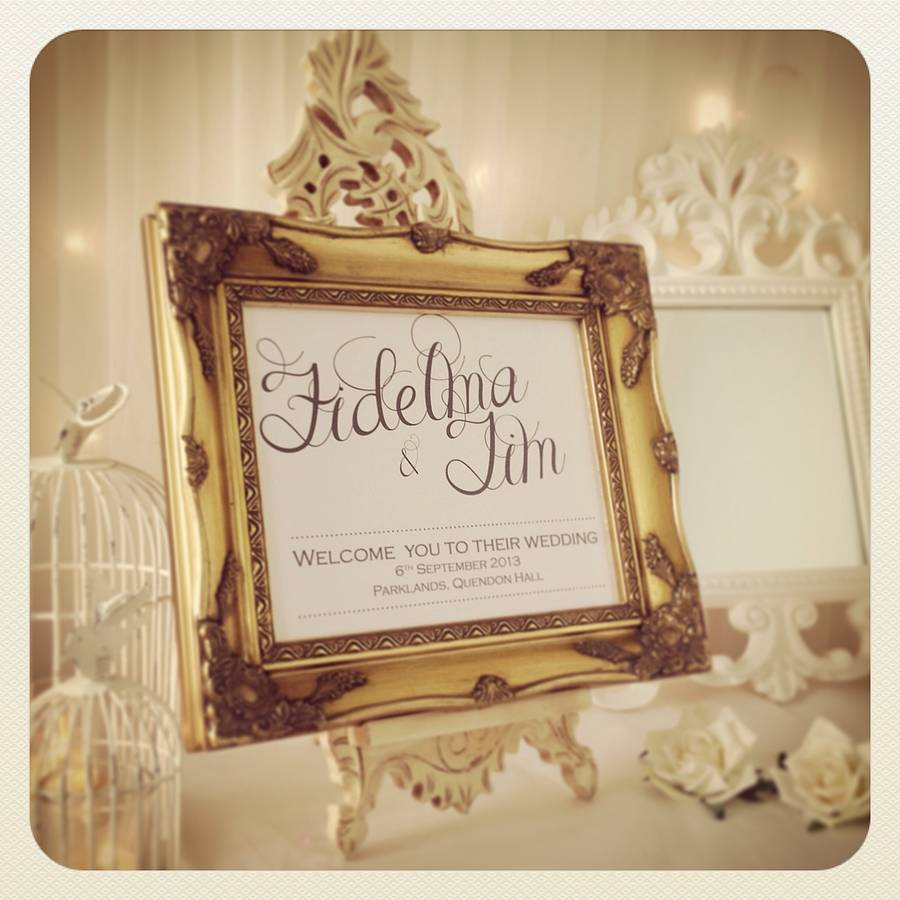 Ideas For Wedding Guest Sign In: Wedding And Bridal Inspiration