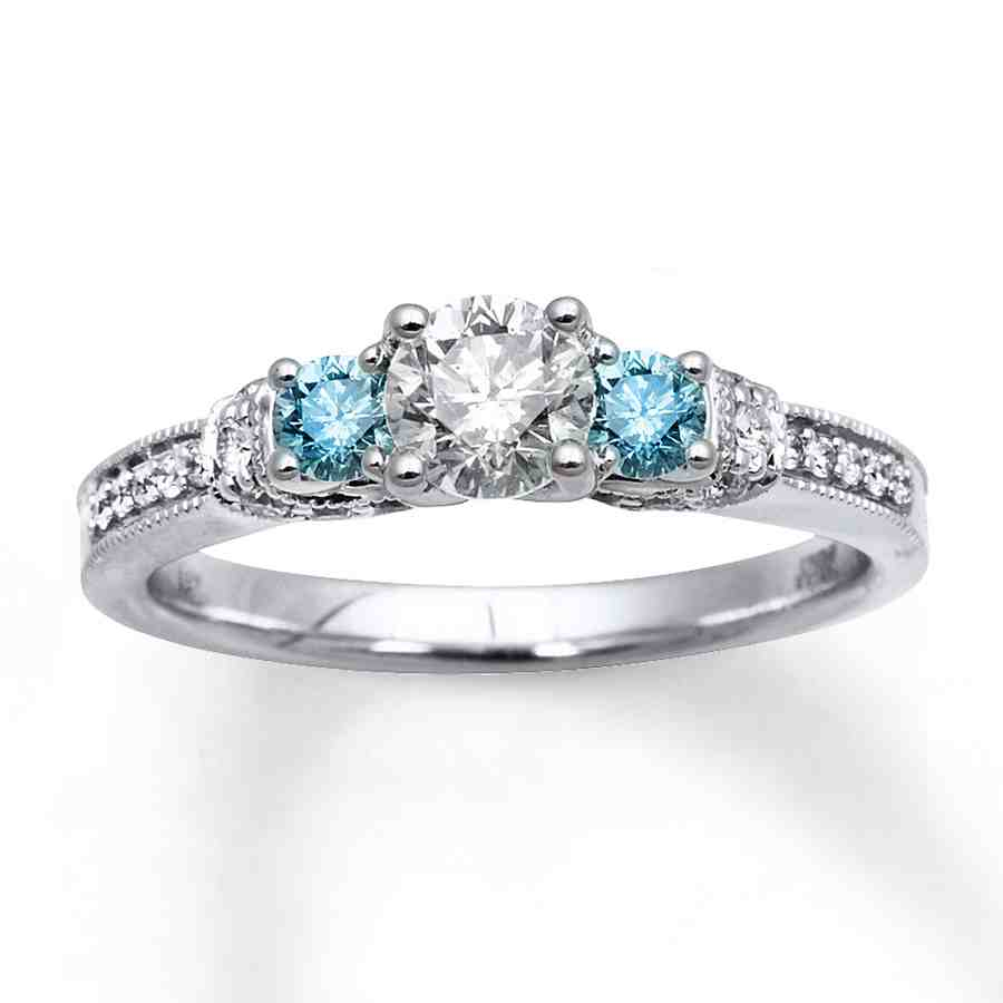 Blue Diamond White Gold Engagement Rings  Wedding And. Attached Engagement Rings. 13th Century Wedding Rings. Appreciation Engagement Rings. Game Throne Rings. Filligree Engagement Rings. Modern Man's Wedding Rings. 90000 Dollar Engagement Rings. South Sea Pearl Rings