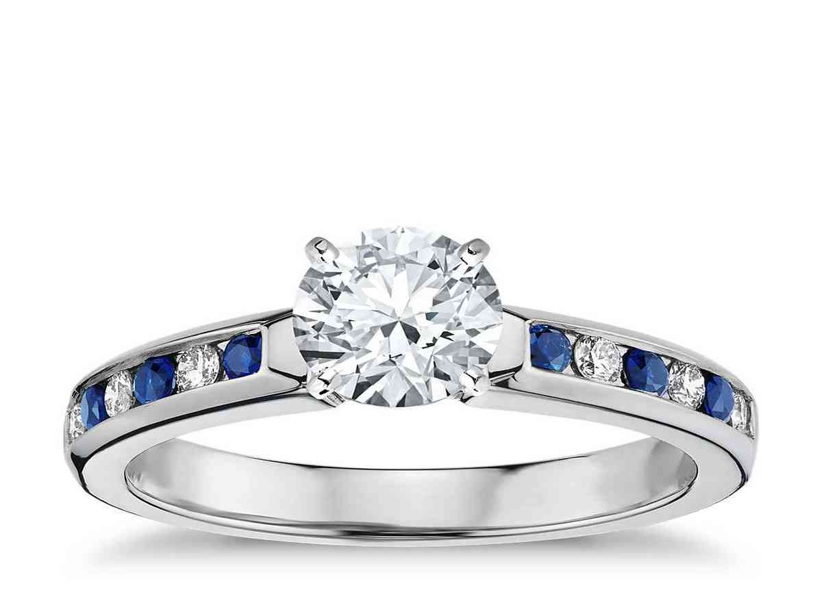 Why Choose Diamond And Sapphire Engagement Rings? - Wedding And Bridal Inspiration