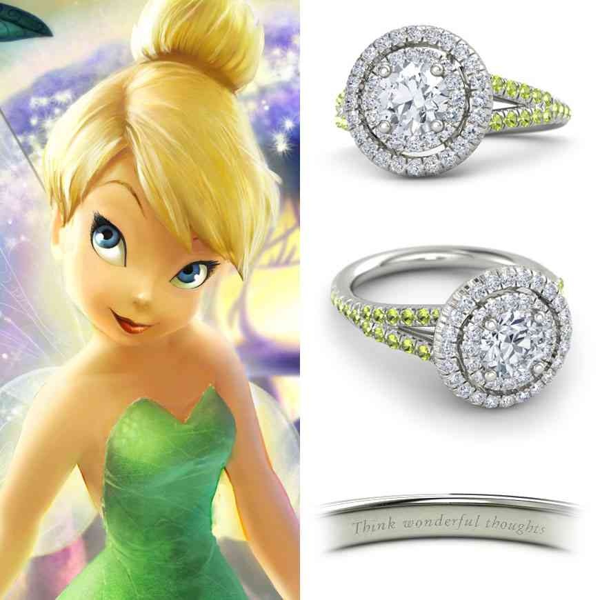 Disney Inspired Engagement Rings - Wedding and Bridal ...