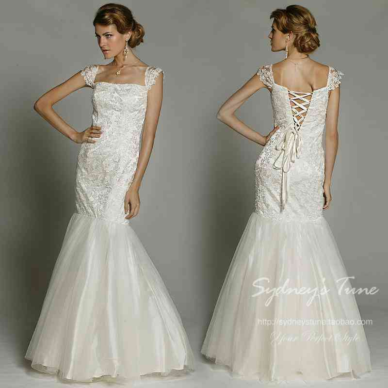 Lace up back wedding dresses wedding and bridal inspiration for Dress up wedding dresses