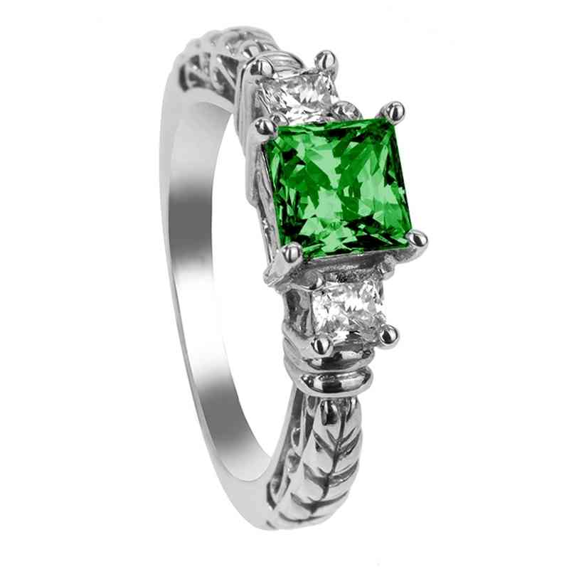 princess cut emerald engagement rings wedding and bridal