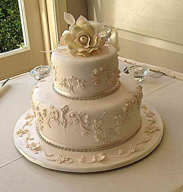Small Wedding Cake Ideas Pictures