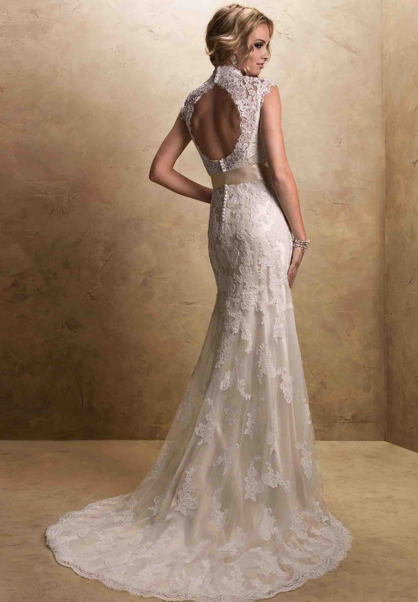 explore lacy wedding dresses