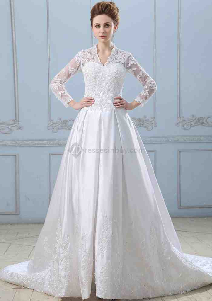 Wedding dresses with sleeves for sale wedding and bridal for Wedding dresses with sleeves for sale