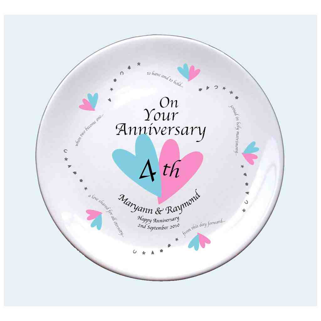 4th wedding anniversary gift ideas wedding and bridal for Best gift for wedding anniversary