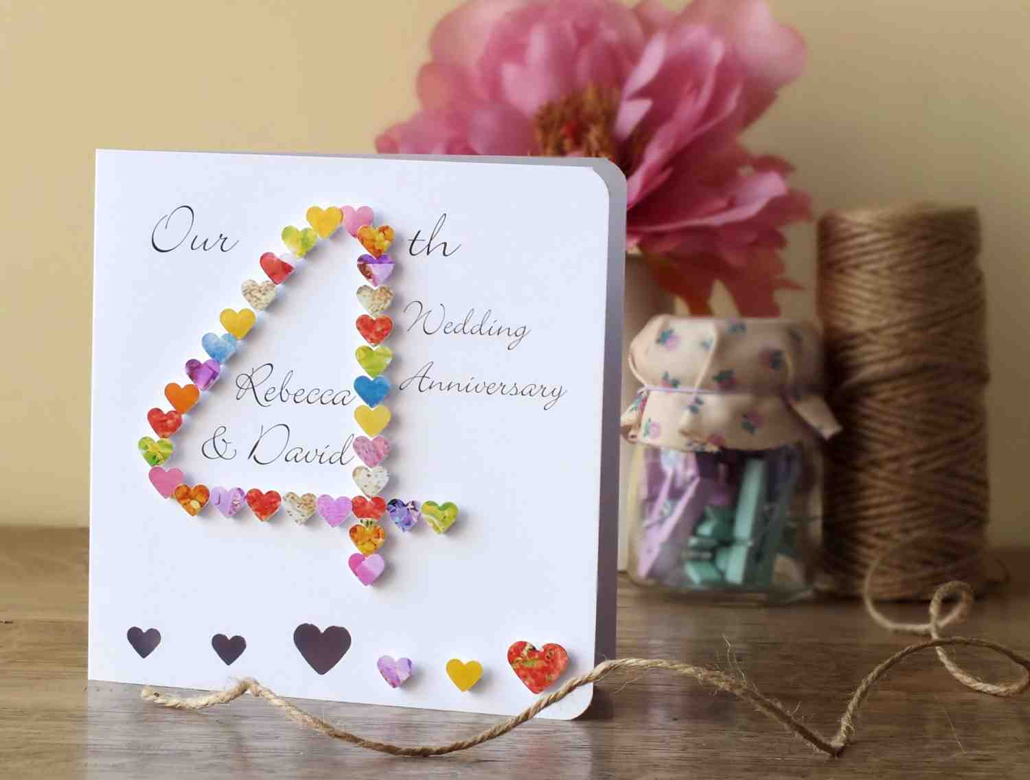 Fourth Year Wedding Anniversary Gift: Wedding And Bridal Inspiration
