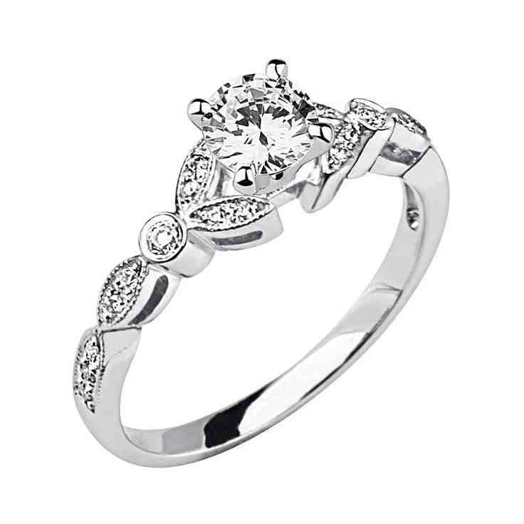 Cheap Diamond Engagement Rings For Women - Wedding And Bridal Inspiration