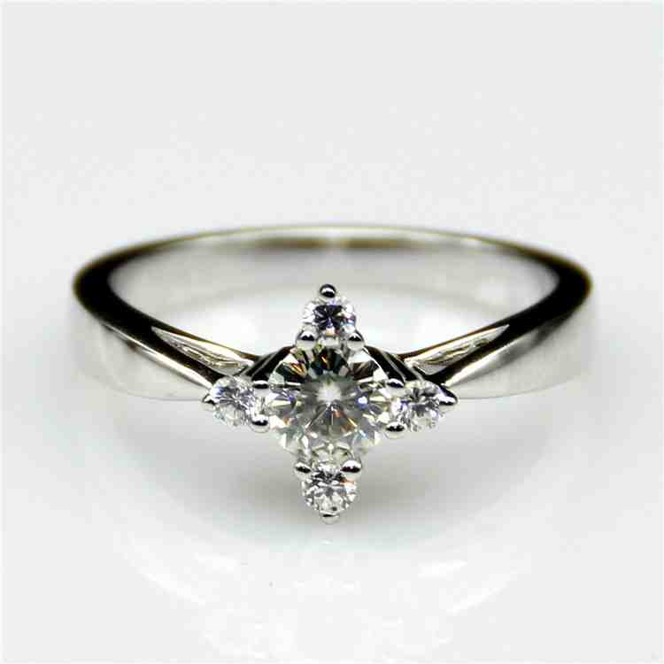 Cheap Man Made Diamond Engagement Rings Wedding and Bridal Inspiration