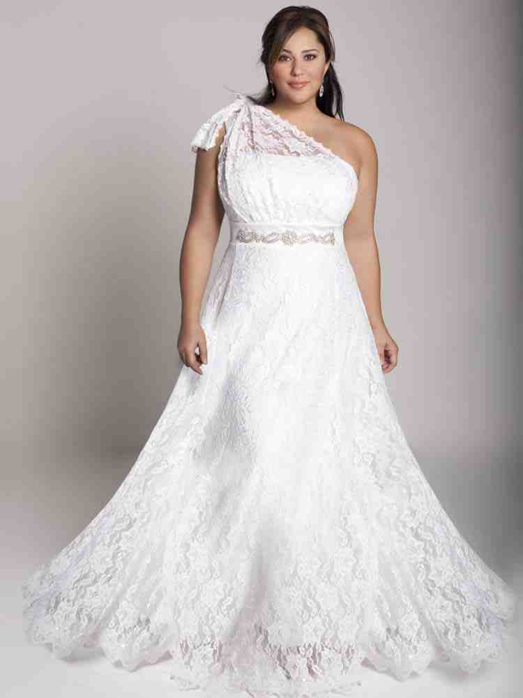 Size plus wedding dresses under 100 video