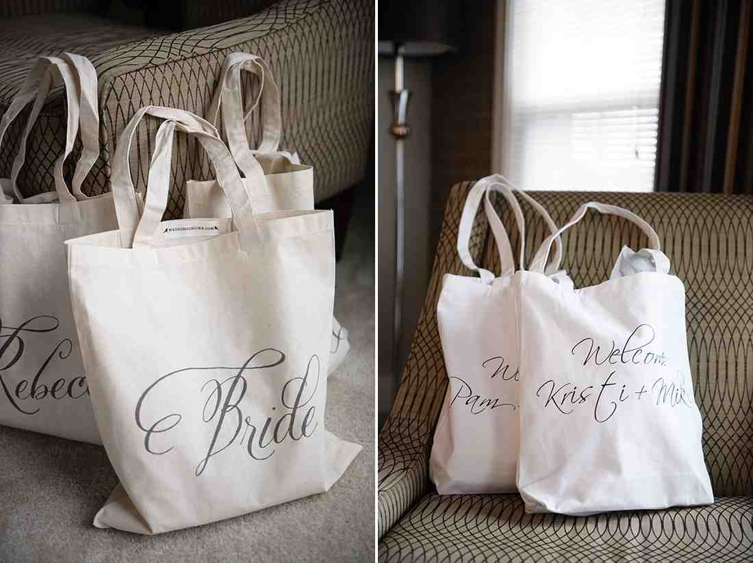 Gift Bags For Wedding Guests At HotelWedding and Bridal Inspiration