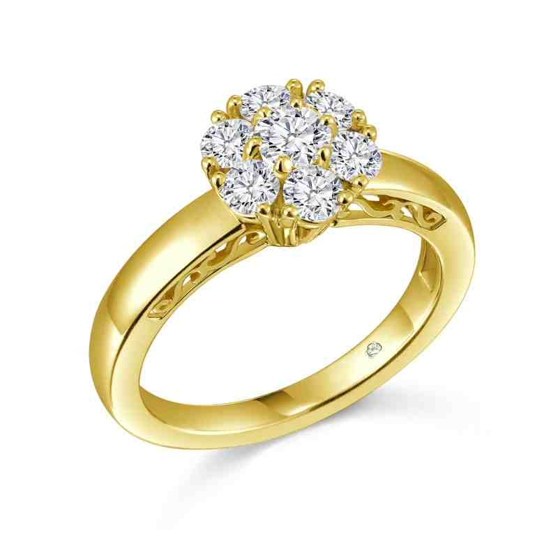gold wedding rings for wedding and bridal inspiration