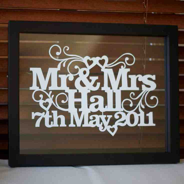 Personalised Wedding Gifts Ideas : Personalized Wedding Gift Ideas - Wedding and Bridal Inspiration